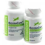Dechra EicosaCaps Omega 3 & 6 魚油營養膠囊   - (適用於41-70磅狗隻食用) 每盒60粒膠囊