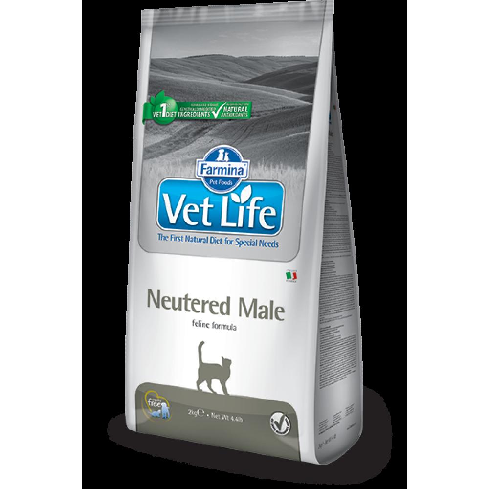 Farmina Vet Life Neutered Male Prescription Feline 貓專用 雄性絕育配方(大) 2kg