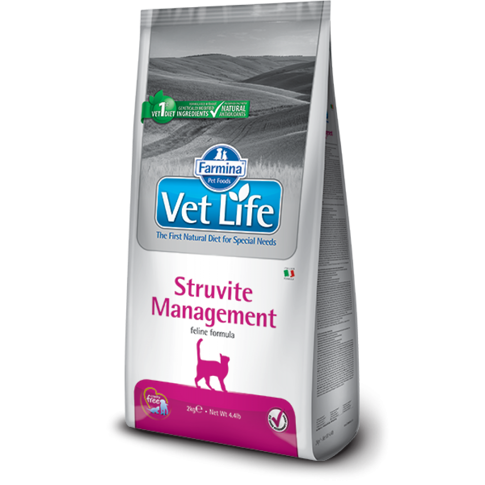 Farmina Vet Life Struvite Management  Prescription Feline 貓專用尿石管理配方(大) 2kg