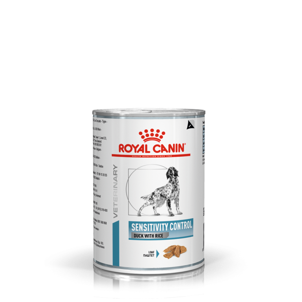 Royal Canin Dog SC21 Sensitivity Control (Duck with Rice) Can (in Loaf) 過敏控制處方鴨肉 狗處方罐頭 420g*12罐